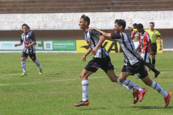 Com hat-trick de Vinícius Joninha Operário goleia o Taveirópolis no Sub-20