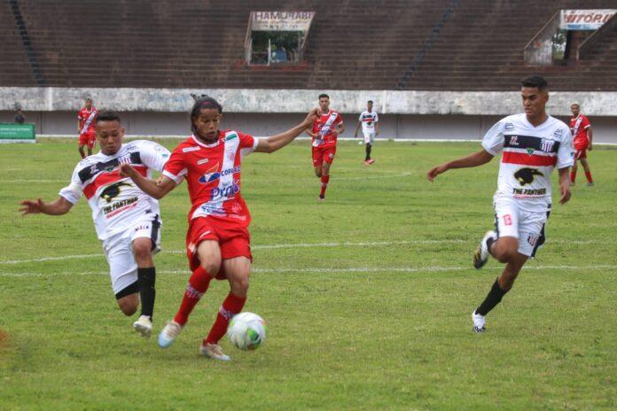 Kayan Cezar faz golaço por cobertura na abertura do estadual sub-20
